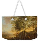Wooded Hillside With A Vista Weekender Tote Bag