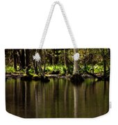 Wooded Reflection Weekender Tote Bag