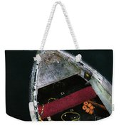 Wooden Boat Weekender Tote Bag