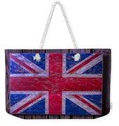 Wooden British Flag Weekender Tote Bag