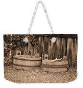 Wooden Buckets Weekender Tote Bag