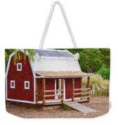 Wooden Cabin  Weekender Tote Bag