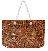 Wooden Coffered Ceiling In The Alhambra Weekender Tote Bag