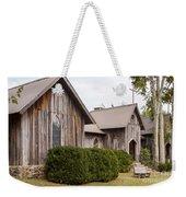 Wooden Country Church Weekender Tote Bag