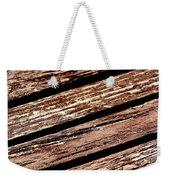 Wooden Deck Weekender Tote Bag