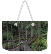Wooden Forest Trail  Weekender Tote Bag