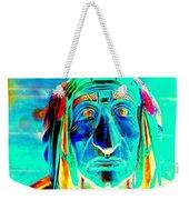 Wooden Indian Weekender Tote Bag