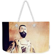 Wooden Man Weekender Tote Bag
