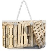 Wooden Pallets Weekender Tote Bag by Tom Gowanlock