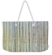 Wooden Poles Weekender Tote Bag by Tom Gowanlock