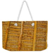 Wooden Roof Weekender Tote Bag
