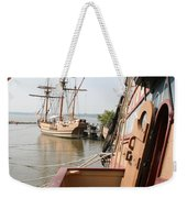 Wooden Sailingships Weekender Tote Bag