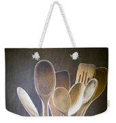 Wooden Spoons Weekender Tote Bag by Jan Bickerton