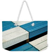 Wooden Steps Weekender Tote Bag by Tom Gowanlock