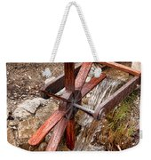 Wooden Water Wheel Weekender Tote Bag