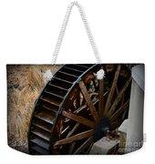 Wooden Water Wheel Weekender Tote Bag by Paul Ward