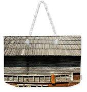 Wooden Window And Roof  Weekender Tote Bag