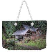 Rustic Cabin Weekender Tote Bag
