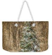 Woodland Christmas Weekender Tote Bag