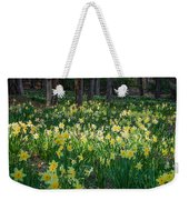 Woodland Daffodils Weekender Tote Bag by Bill Wakeley