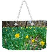 Woodland Daffodils Weekender Tote Bag