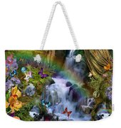 Woodland Forest Fairyland Weekender Tote Bag by Alixandra Mullins