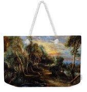 Woodland Scenery Weekender Tote Bag