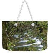 Woodland Stream - Monk's Dale Weekender Tote Bag