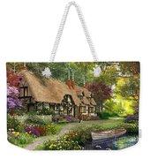 Woodland Walk Cottage Weekender Tote Bag