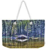 Woods Lake 1 Weekender Tote Bag