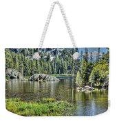 Woods Lake 2 Weekender Tote Bag
