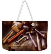 Woodworker - A Collection Of Hammers  Weekender Tote Bag