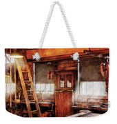 Woodworker - Old Workshop Weekender Tote Bag