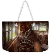 Woodworker - The Art Of Lathing Weekender Tote Bag