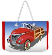 Woody Peddle Car Weekender Tote Bag