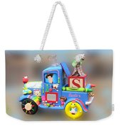 Woody Wagon Weekender Tote Bag