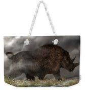 Woolly Rhinoceros Weekender Tote Bag