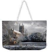 Worcester Cathedral Cloudy Weekender Tote Bag