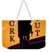 Work Out Vertical Work One Weekender Tote Bag