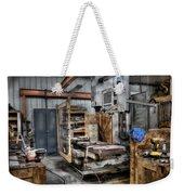 Work Station Machinst Style Weekender Tote Bag