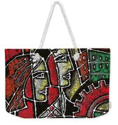 Industrial Composition Weekender Tote Bag