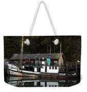 Working Boat Weekender Tote Bag by Bill Gallagher