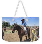 Working Cowboy Weekender Tote Bag