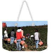 Working The Fields  Weekender Tote Bag
