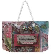 Works Of Heart Matrimony Weekender Tote Bag