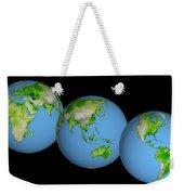 World Globes Weekender Tote Bag
