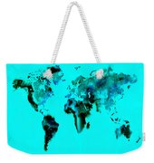 World Map 15 Weekender Tote Bag