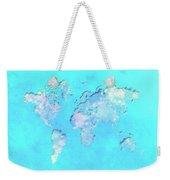 World Map 1b Weekender Tote Bag