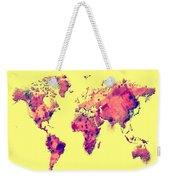 World Map 1t Weekender Tote Bag