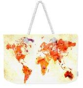 World Map 2d Weekender Tote Bag